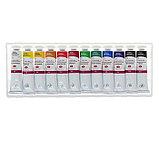 Набор художественных акриловых красок «Сонет», 12 цветов, 18 мл, в тубах, фото 2