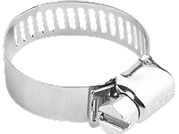 "Хомуты ЗУБР ""ЭКСПЕРТ"", нерж. сталь, просечная лента 8 мм, 8-13 мм, 5 шт"