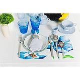 Набор столовых приборов «Ариета», 24 предмета, толщина приборов 2,5 мм, декоративная коробка, фото 6