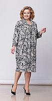 Платье Anna Majewska-1212, серые тона, 60