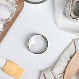 Форма перфорированная для выпечки «Круг», d=6 см, фото 2