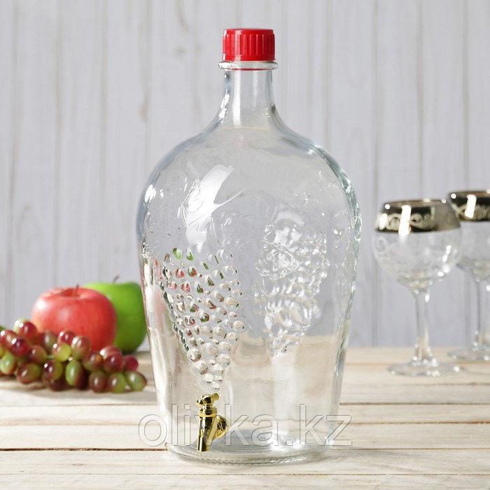 """Бутылка 4,5 л """"Ровоам"""", с краником"""