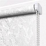 Рулонная штора «Фрост», 40 х 175 см, цвет белый, фото 2