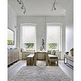 Рулонная штора «Фрост», 40 х 175 см, цвет белый, фото 3