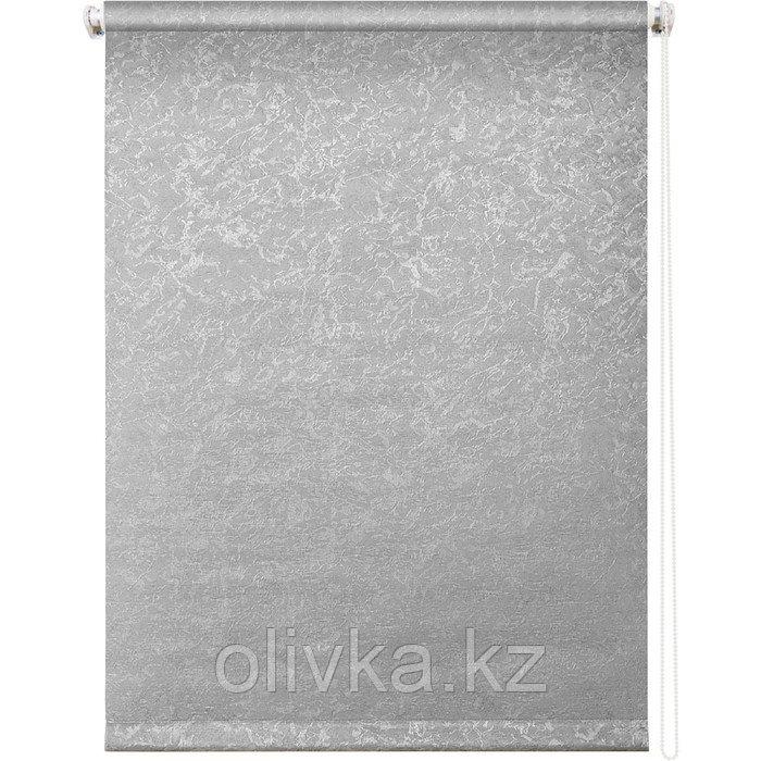 Рулонная штора «Фрост», 43 х 175 см, цвет серый