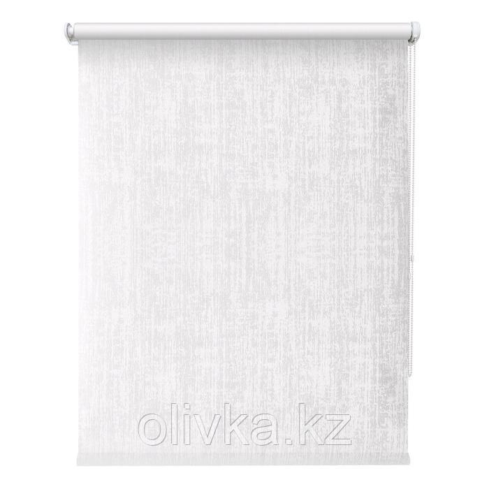 Рулонная штора «Кембридж», 40 х 175 см, цвет белый