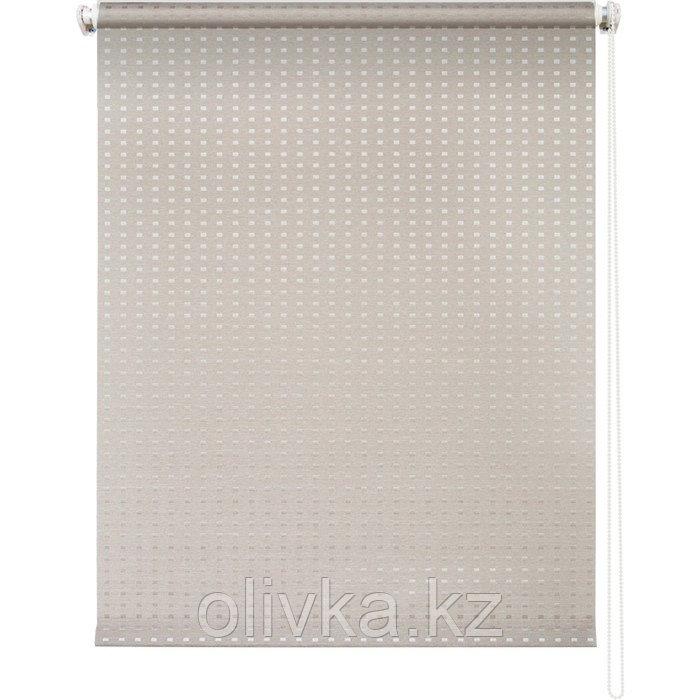 Рулонная штора «Плаза», 61 х 175 см, цвет кремовый