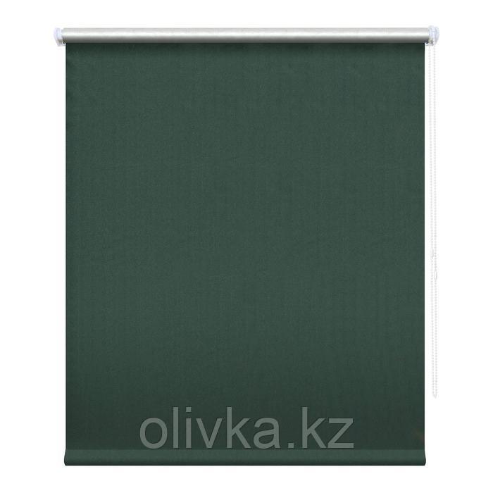 Рулонная штора блэкаут «Сильвер», 60х175 см, цвет моренго