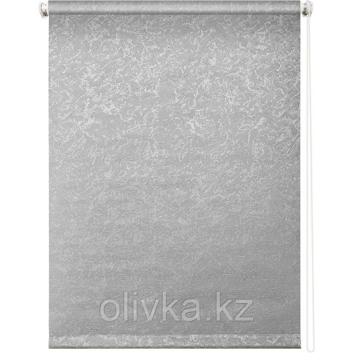 Рулонная штора «Фрост», 78 х 175 см, цвет серый