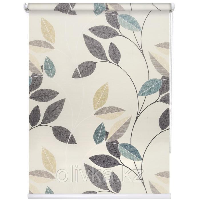 Рулонная штора «Листопад», 120 х 175 см, цвет