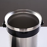 """Термос для еды """"Экспресс"""" 1с934, 2 контейнера, 2.5 л (0.6 + 0.6 + 1,3 л), 55 °С, 8 ч, фото 4"""