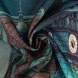 Комплект штор Разноцветные домики, 147х267 +/- 3см 2шт, габардин, п/э100%, фото 3