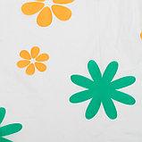Скатерть для дачи Хозяюшка Цветы 140×180 см, фото 2