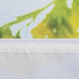 Комплект штор Рассвет 150х270 +/- 3см 2шт, габардин, п/э, фото 2