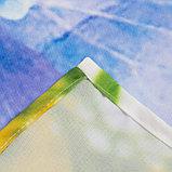 Комплект штор Рассвет 150х270 +/- 3см 2шт, габардин, п/э, фото 4