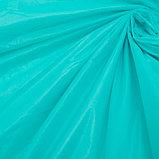 Скатерть для дачи Хозяюшка Радуга, цвет бирюза 137×274 см, фото 2