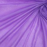Скатерть для дачи Хозяюшка Радуга, цвет фиолетовый 137×274 см, фото 2