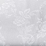 Тюль со шторной лентой 250х200см, белый 3, пэ 100%, фото 2