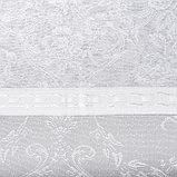 Тюль со шторной лентой 250х200см, белый 3, пэ 100%, фото 3