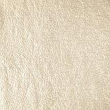 Комплект штор портьерных «Тергалет», 140х260см- 2 шт, цвет молочный, п/э, фото 2