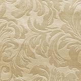 Штора портьерная, «Водевиль», 135х260 см, цвет светло-золотой, тиснение, фото 2