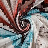 Штора портьерная Этель «Памир» 170х260 см, цвет мульти, 100% полиэстер, блэкаут, фото 3