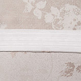Шторы портьерные жаккард Фиалка светло-бежевый 135*260 2шт., фото 4
