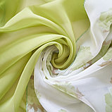 Комплект штор для кухни «Марианна», размер 300х160 см, цвет зелёный, фото 3