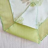 Комплект штор для кухни «Марианна», размер 300х160 см, цвет зелёный, фото 5