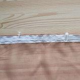 Комплект штор для кухни Весна 280х160 см, какао лев., 100% п/э, фото 5