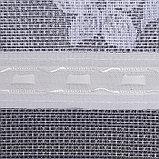 Штора тюль 255х160 см, белый, 100% п/э, шторная лента, фото 3