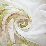 Комплект штор для кухни Офелия 300х160 см, зелёный, полиэстер 100%, фото 3