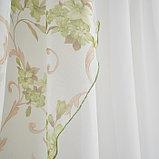 Комплект штор для кухни Офелия 300х160 см, зелёный, полиэстер 100%, фото 4