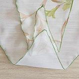 Комплект штор для кухни Офелия 300х160 см, зелёный, полиэстер 100%, фото 5