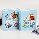 """Фотоальбом на 40 фото 10х15 см """"Детские вещи"""" в коробке МИКС 17х14х4,5 см, фото 6"""