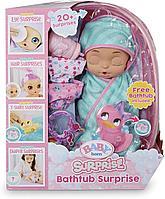 Baby Born Bathtub Surprise большая кукла с ванночкой Kitty, фото 1