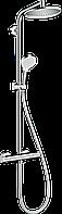 Hansgrohe Crometta S Showerpipe 240 1jet с термостатом (27267000)
