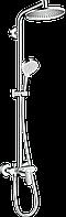 Hansgrohe Crometta S Showerpipe 240 1jet с однорычажным смесителем (27269000)