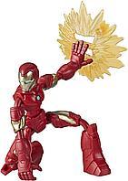 Железный человек подвижная фигурка 15 см Bend&Flex Hasbro, фото 1