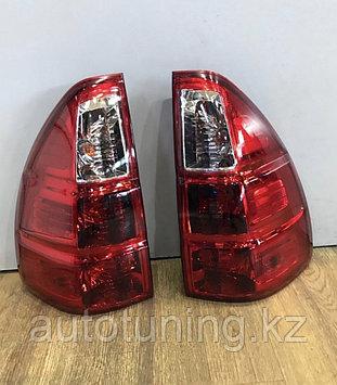 Задние фонари в стиле Lexus GX470 на Land Cruiser Prado 120 2002-2009