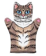 Кукла перчатка «Кот» домашний кукольный театр.