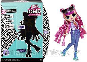 LOL Surprise OMG 3 серия Большая кукла ЛОЛ Roller Chick