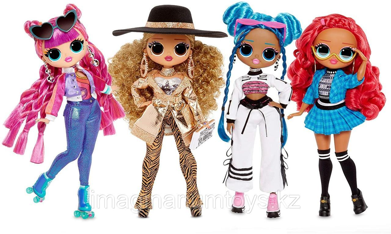 LOL Surprise OMG 3 серия Большая кукла ЛОЛ Roller Chick - фото 4