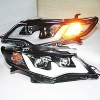 Передняя фары на Camry V50 USA 2011-14 Chrome color