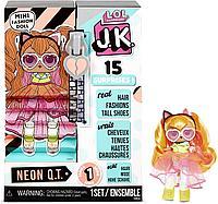 Кукла LOL Surprise JK Neon Q.T. Mini Fashion Doll, фото 1