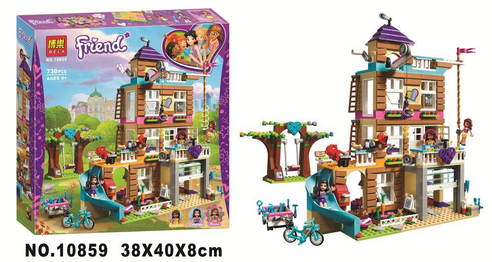 Конструктор BELA Friend Дом Дружбы арт.10859 (Аналог LEGO Friends 41340) - фото 1