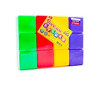 Новокузнецкий завод пластмасс / Веселые кубики 12 штут