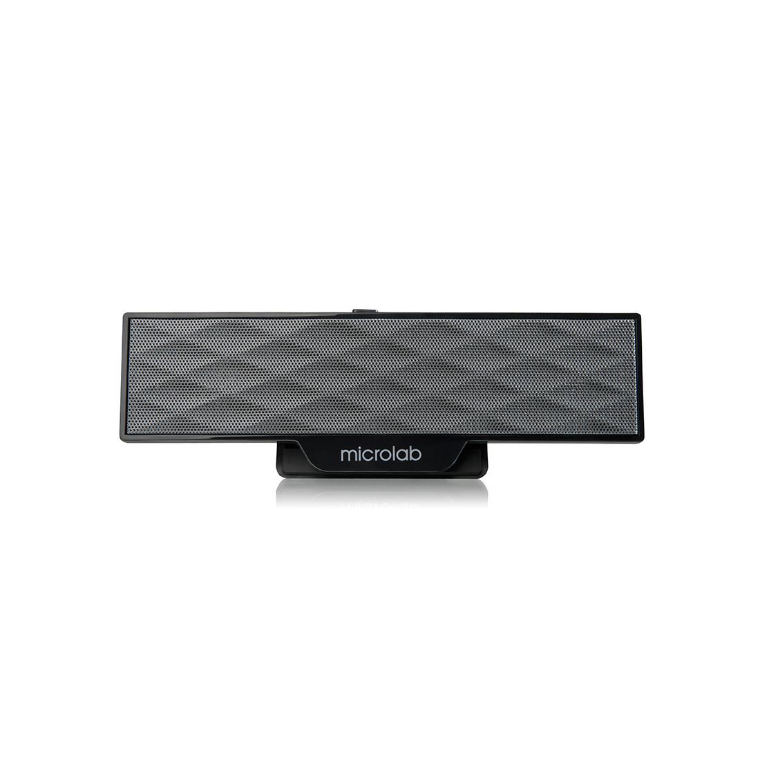 Колонки MicroLab B51(USB) 2.0 (4 Вт / 2 Вт*2) Чёрный - фото 2