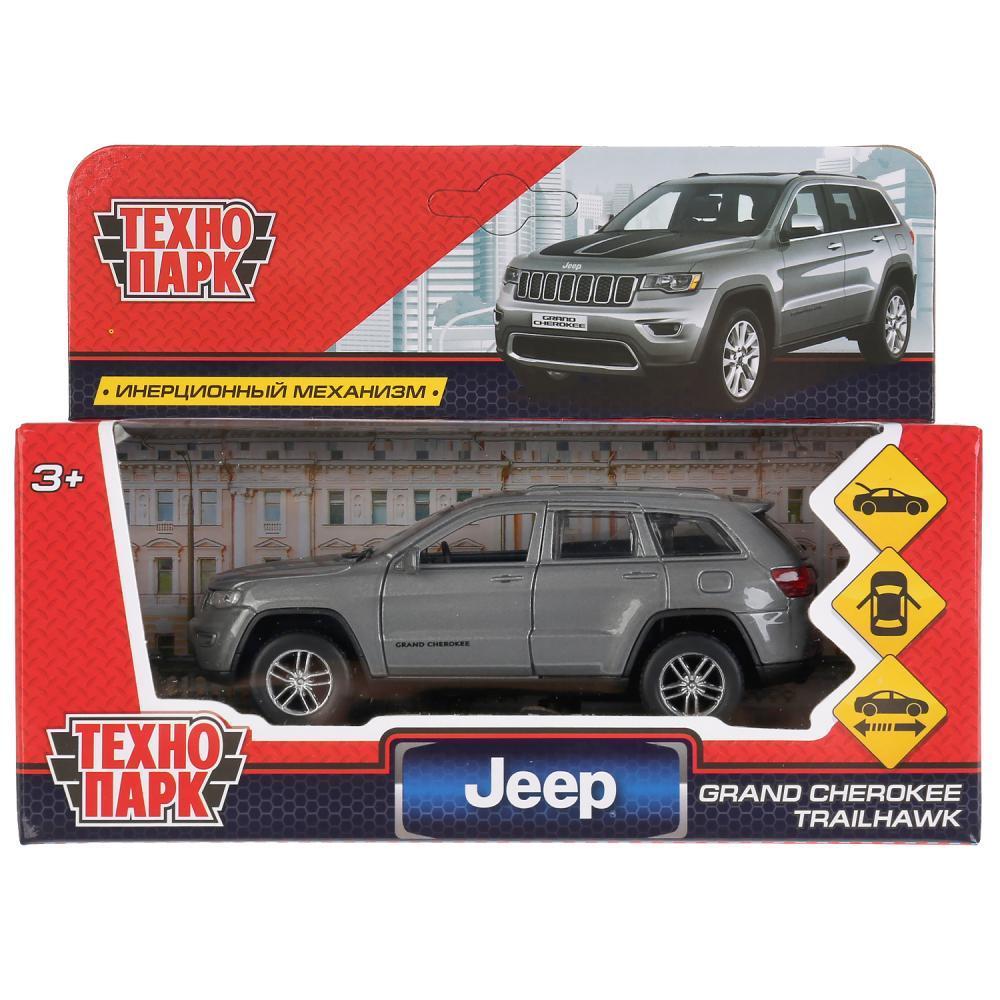ТехноПарк Металлическая модель Jeep Grand Cherokee, 12 см