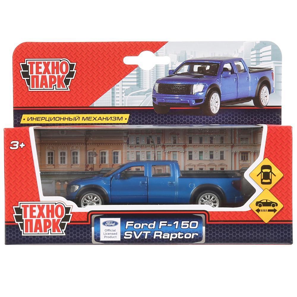 ТехноПарк Инерционная модель Ford F-150 SVT Raptor, синий